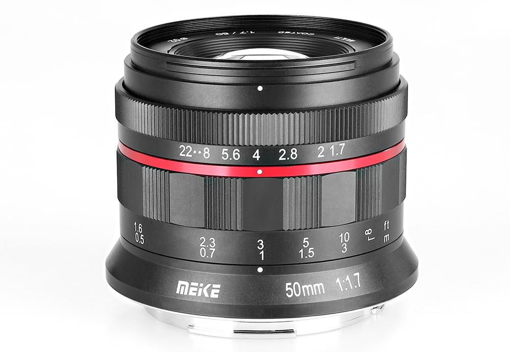 Meike представили объектив 50mm f/1.7 для систем Nikon Z и Canon RF