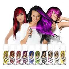 Яскраві спреї для волосся на один день
