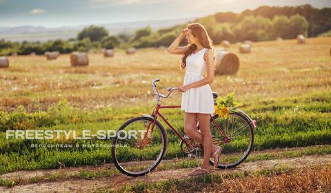 Как выбрать велосипед для женщины и ребенка