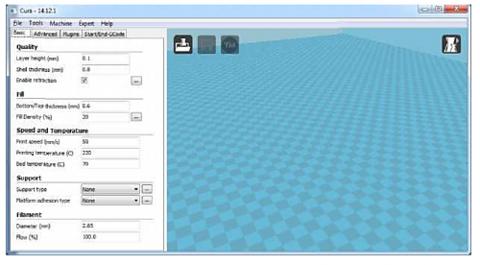 Программа CURA и 3D принтер Wanhao Duplicator i3