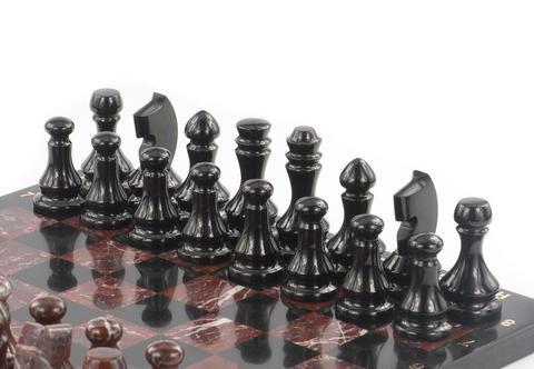 Новое пополнение шахмат из природного камня