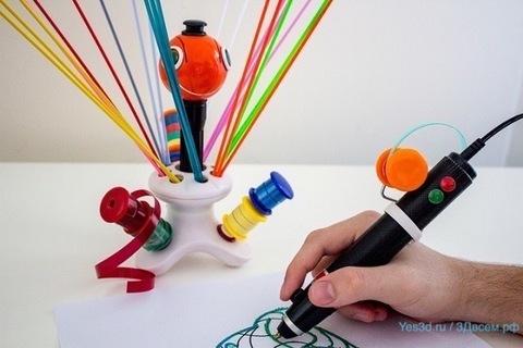 Новая 3D-ручка Renegade может использовать для работы пластиковые отходы.