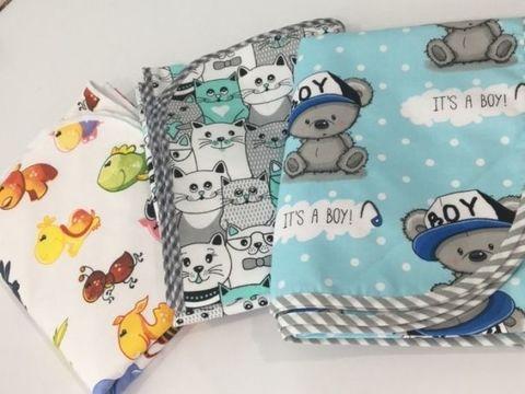 Непромокаемая пеленка для новорожденных. Уход за ними.