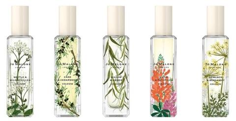 Лимитированная коллекция Wild Flowers & Weeds от Jo Malone.