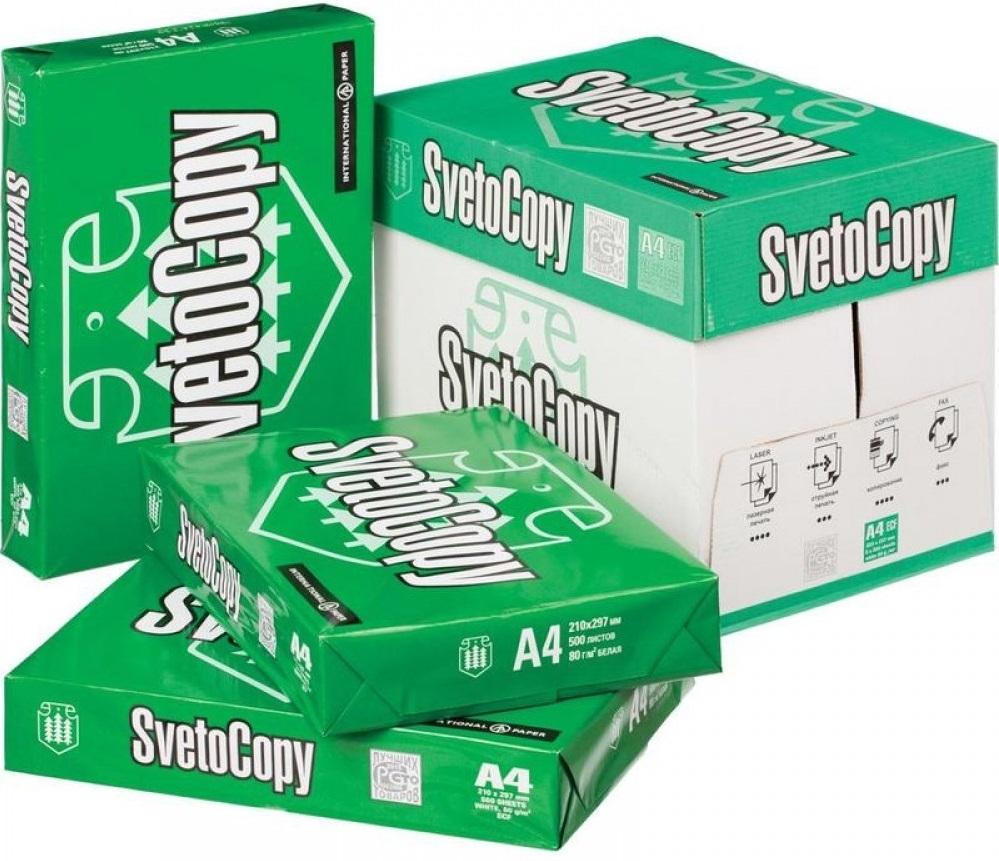 Бумага марки «SvetoCopy» номер 1 в рейтинге лучшей бумаги для принтера!