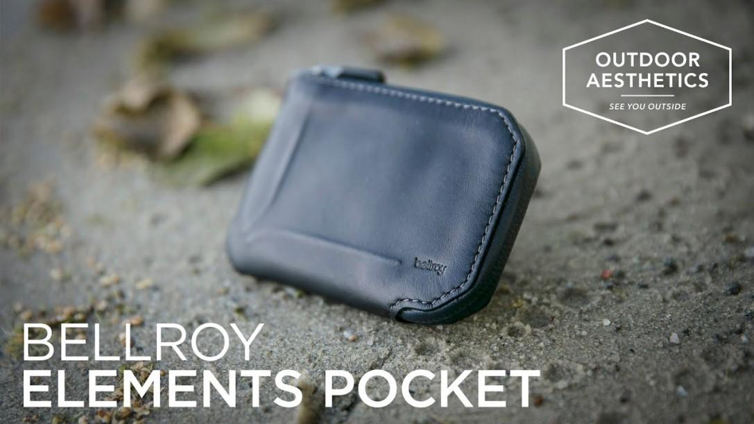 Обзор кошелька Bellroy Elements Pocket