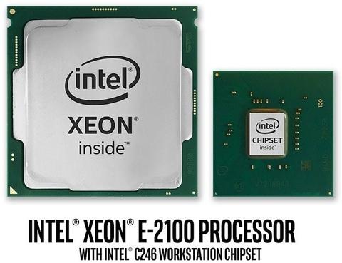 Intel представила 10 процессоров Xeon на Coffee Lake