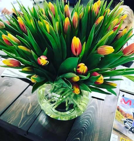 Поздравление с днем Весны!