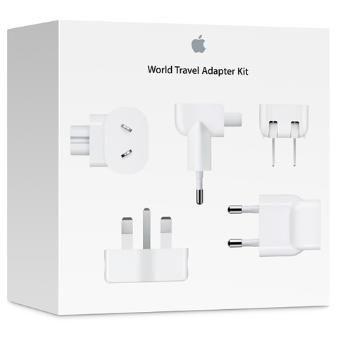 Обзор Apple World Travel Adapter Kit