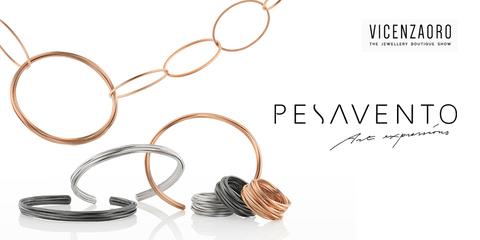 Pesavento на международной ювелирной выставке Vicenzaoro