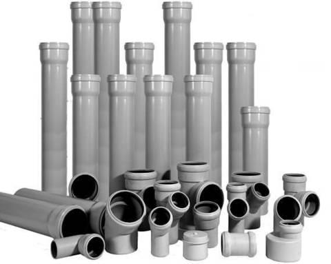 Трубы для канализации.