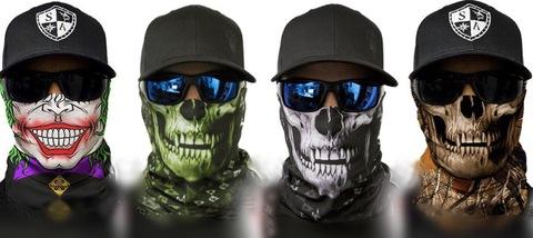 Банданы-маски с черепом SA Company!