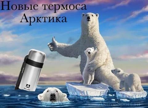 Новые поступления термосов Арктика