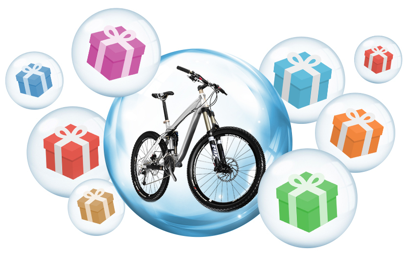 Выиграй 100% скидку на велосипед при покупке в нашем московском магазине