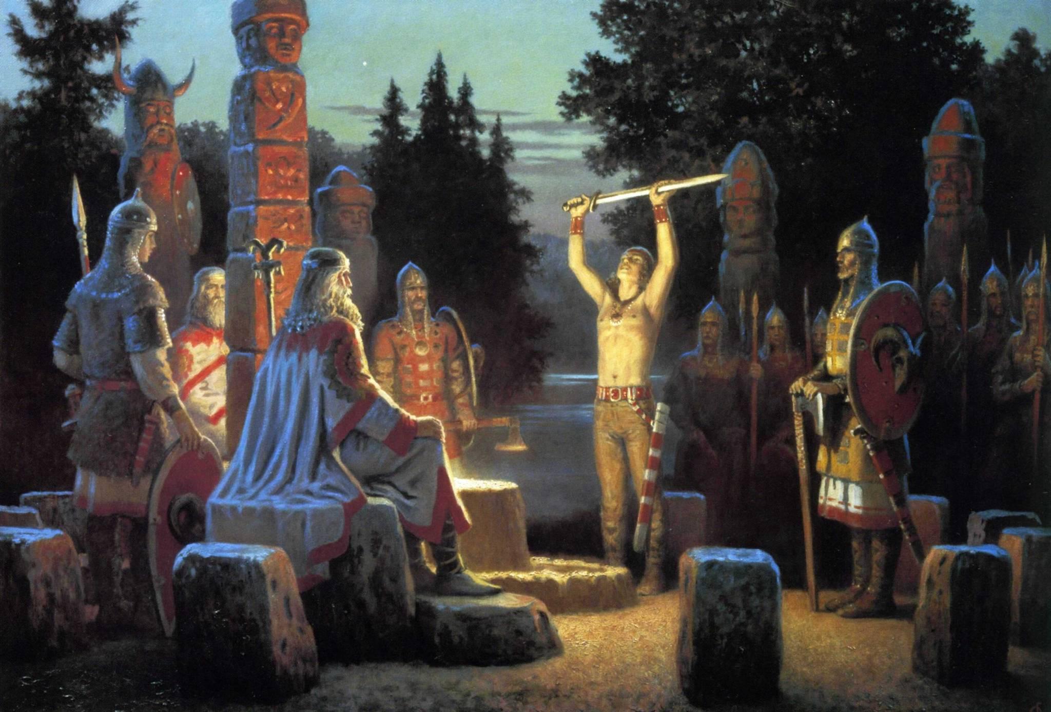Культура древних славян, языческая культура славян