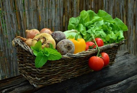 Сезонные овощи октября