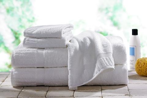 Идеально белоснежные полотенца...Исчезают все жирные пятна и пятна от кофе!