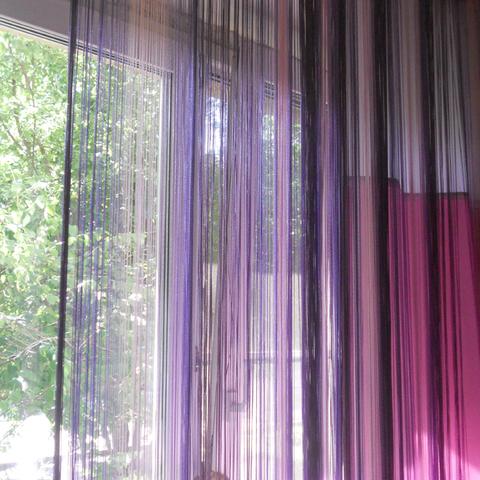 Как стирать нитяные шторы кисею?