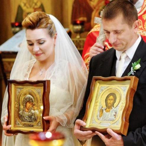 Иконы в подарок на свадьбу. Иконы для благословения молодых