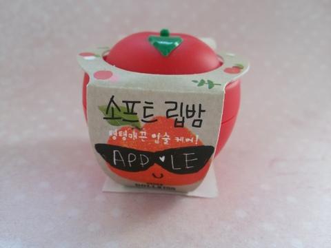 Молодильное яблочко для Ваших губ BAVIPHAT Бальзам для губ яблоко Apple Soft Lip Balm