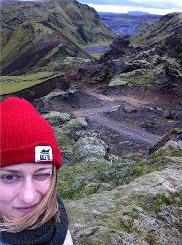 Надя покоряет Исландию