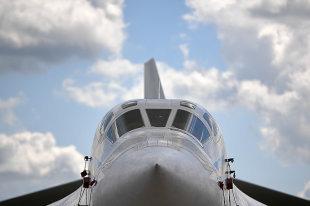 Ракетоносец Ту-160М Петр Дейнекин поднялся в воздух