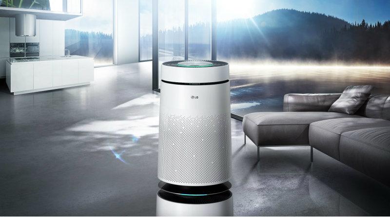 Премиальный воздухоочиститель, другая высококачественная техника представлена LG Electronics