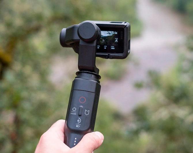 Сравниваем стабилизаторы для экшн-камер