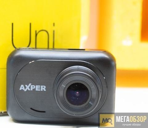 Обзор AXPER Uni. Full HD видеорегистратор с двумя вариантами крепления