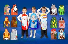 Регистрация на розыгрыш 15 персонажей фартучкового театра в прямом эфире вебинара Сказка в жизни ребенка