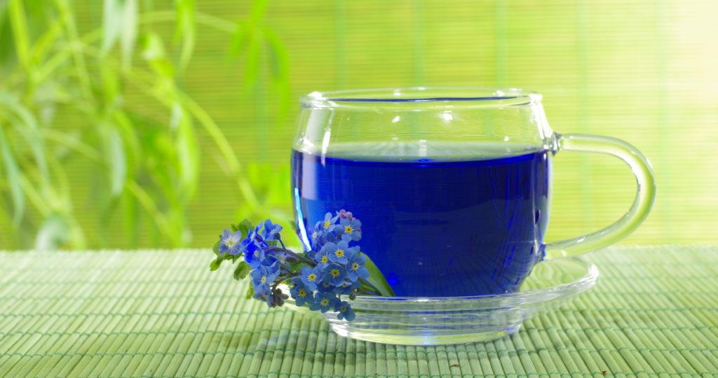 Секреты Тайского синего чая.