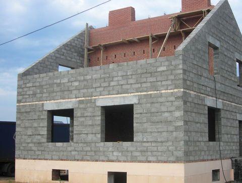 Строительство домов из керамзитобетонных блоков в Тюмени