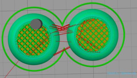 Оптимизируем заполнение для мягких типом 3Д пластика
