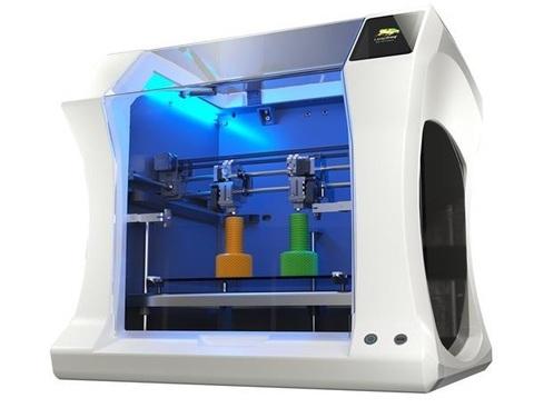 Настольный 3D-принтер Leapfrog Bolt - попробуйте печатать две модели одновременно!