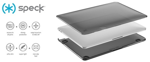 Обзор Speck SeeThru MacBook Case