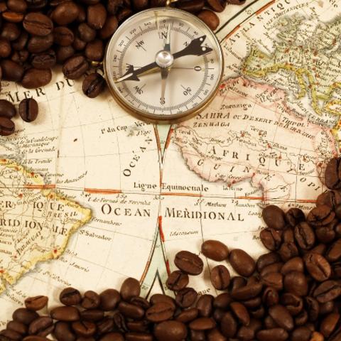 Происхождение и распространение кофе