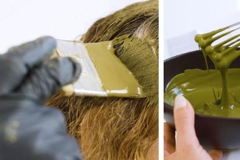 Натуральная краска Khadi Naturprodukte. Инструкция по применению.