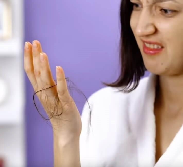 Как остановить выпадение волос в домашних условиях.