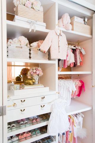 Советы Лизы Адамс: организация детской гардеробной