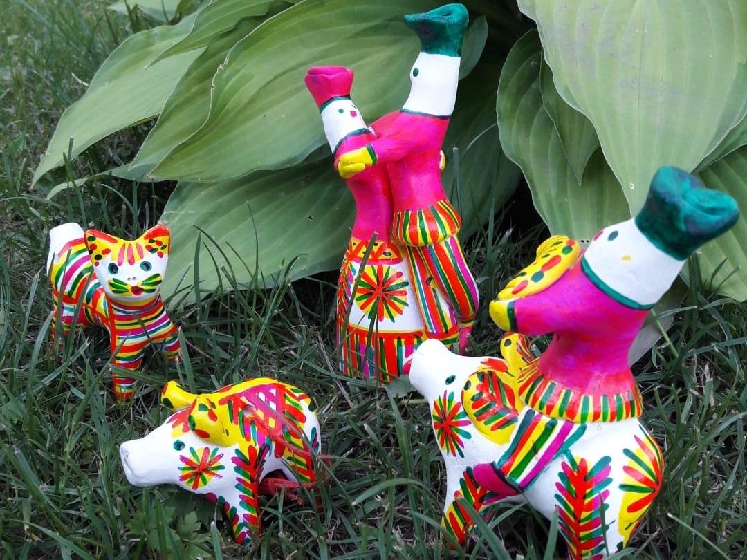 Приглашаем на семейную программу «Филимоновская глиняная игрушка в «Романовском Парке»»