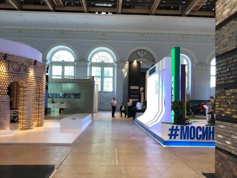 В московском Манеже прошла выставка архитектуры и дизайна