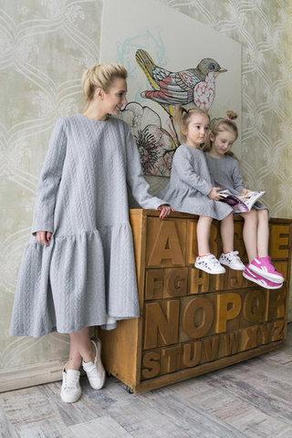 Одеться с дочкой в едином стиле – прекрасная идея!