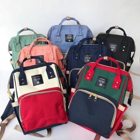 Стильные сумки рюкзаки Anello Mommy для мам и малышей