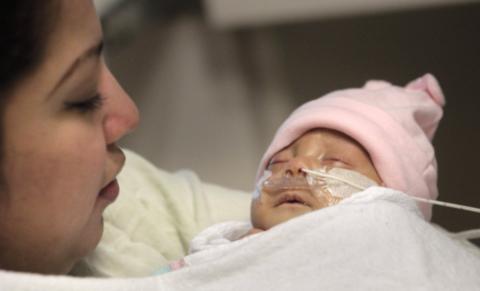 Студентка не заметила беременность и внезапно родила