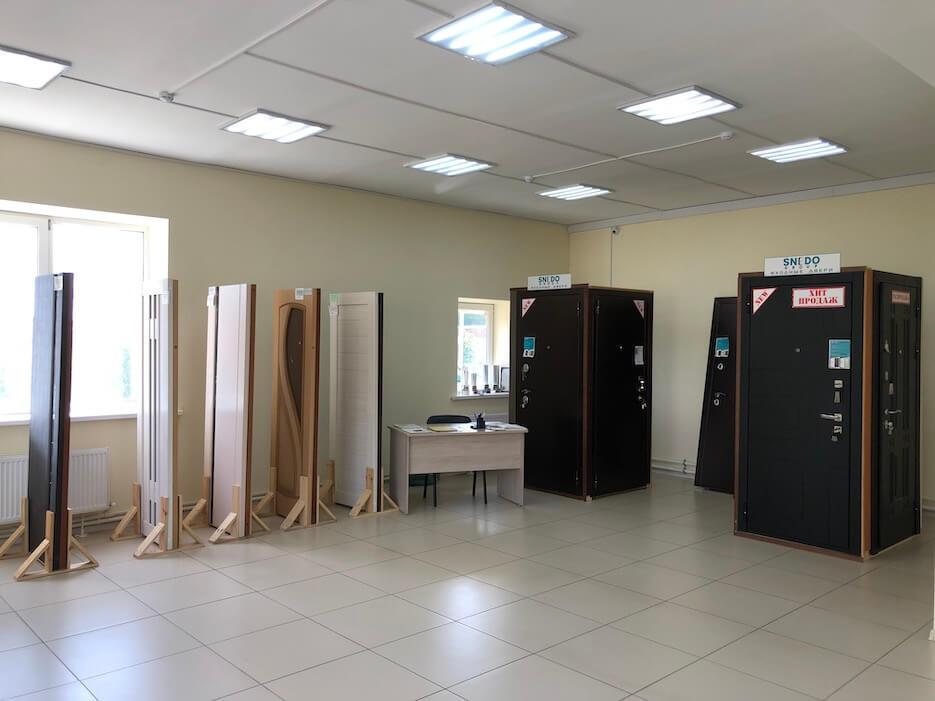 Открытие офиса продаж дверей и окон