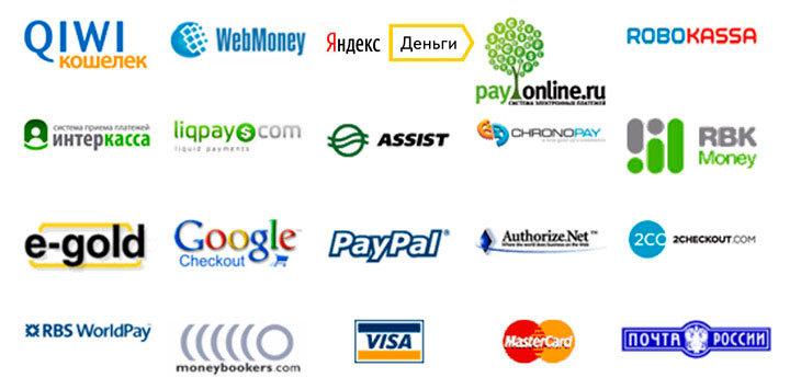 Организация приема платежей в интернет магазине