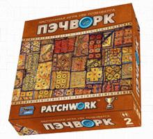 Пэчворк - одна из лучших дуэльных настольных игр уже в «Единороге»!