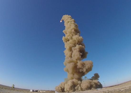 Новая противоракета на страже мирного неба