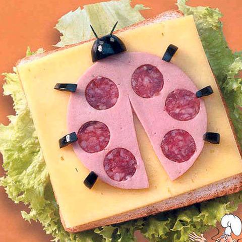 Сэндвичи для самых маленьких!
