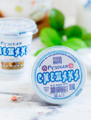-25% на Рузское молоко и Рузскую сметану